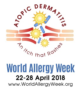 World Allergy Week 2018 logo 275x298