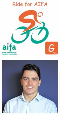 Michael Fries Ride for AIFA