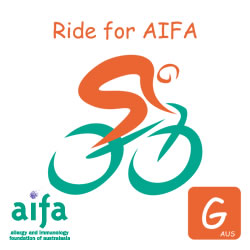 Michaels ride for AIFA