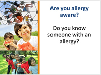 are you allergy aware