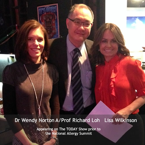 Dr Norton, A/Prof Richard Loh and Lisa Wlikinson