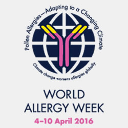World Allergy Week April 4-10th, 2016